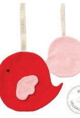 Peppa Peppa - fopspeendoekje, vogel rood