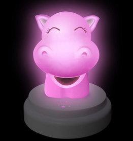 Alecto Nachtlampje, silly hippo