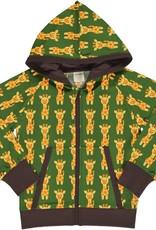 Maxomorra Maxomorra - cardigan hood sweat giraffe (3-16j)