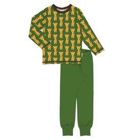 Maxomorra Pyjama set, giraffe (3-16j)