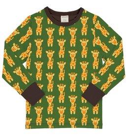 Maxomorra Shirt, giraffe (3-16j)