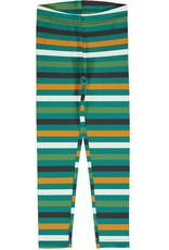 Maxomorra Maxomorra - leggings stripe lagoon (0-2j)