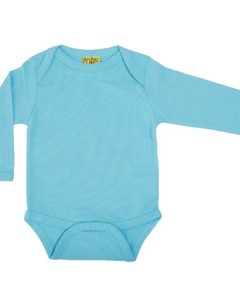 More than a Fling More Than a Fling - Long Sleeve Lapneck Body, Sky Blue (0-2j)