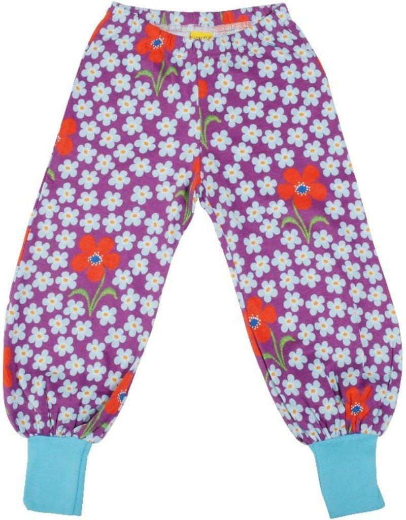 Duns Sweden Duns Sweden - Baggy Pants, Flower Amethyst (0-2j)