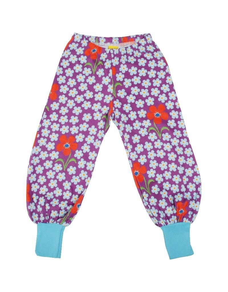 DUNS Sweden Duns Sweden - Baggy Pants, Flower Amethyst (3-16j)