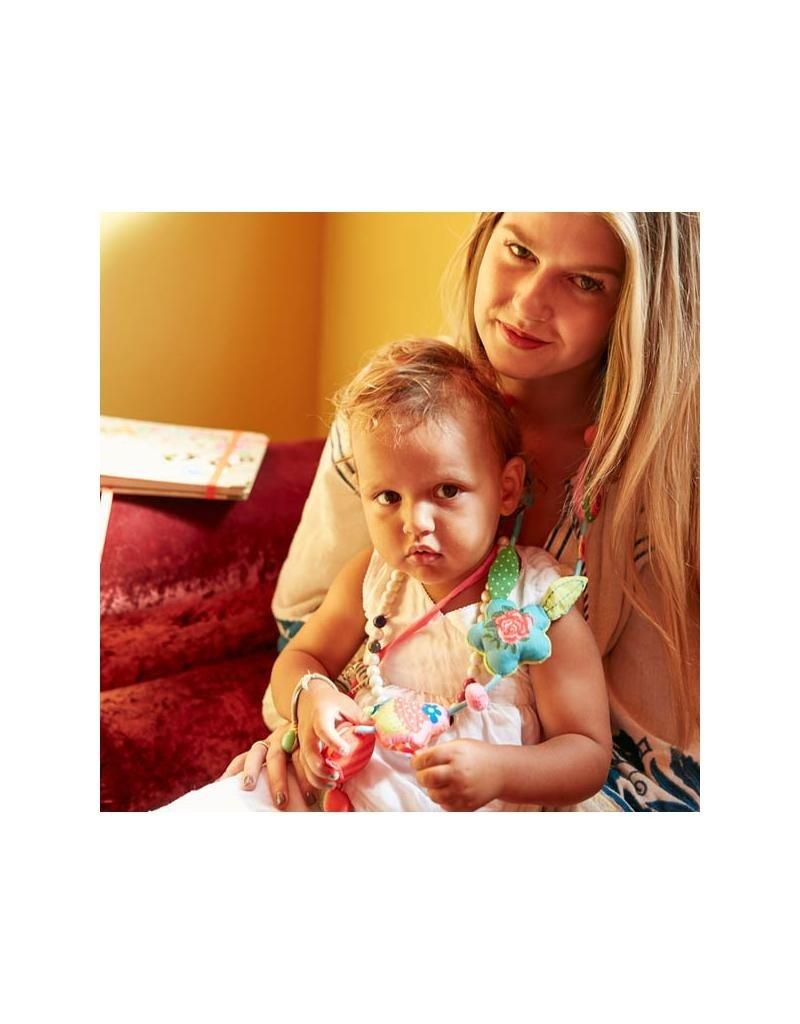 Dushi Dushi - halsketting moeder & kind, india