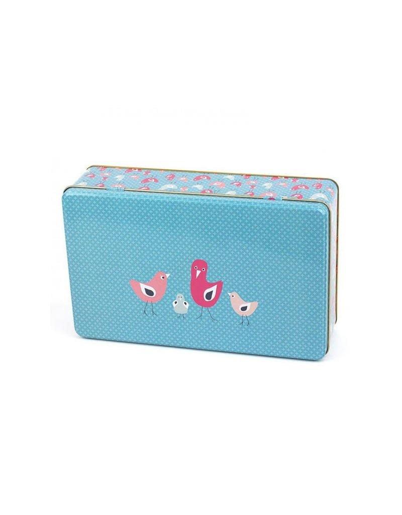 Froy & Dind Froy & Dind - box, rechthoekig, 27 x 18 x 7,5 cm, birdies
