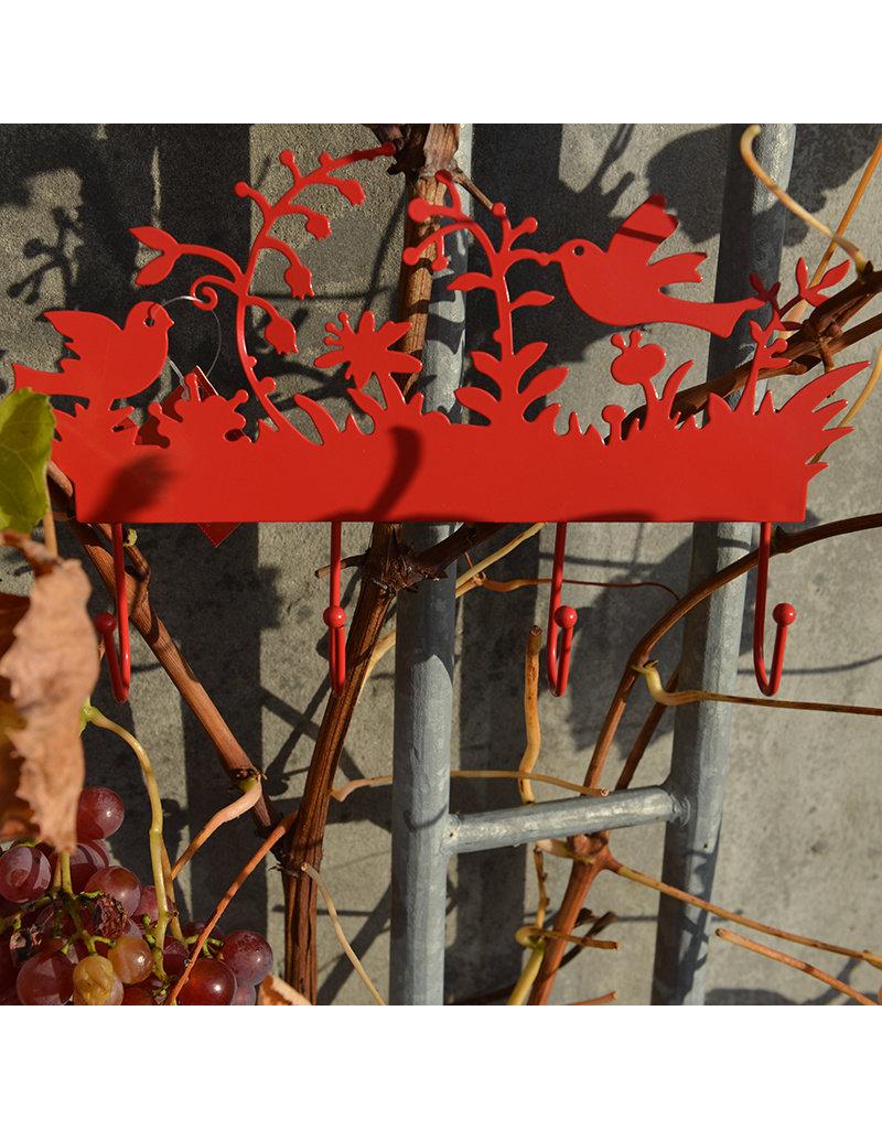 Global Affairs Global Affairs - kapstok, rood, vogels