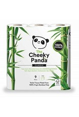 The Cheeky Panda The Cheeky Panda - Wc-papier, 9 rollen, bamboe