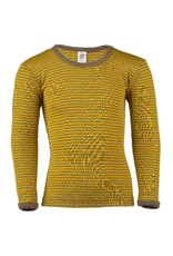 Engel Engel - onderhemd, ls, wol/zijde, walnoot/safraan (3-16j)