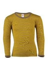 Engel Engel - onderhemd, ls, wol/zijde, walnoot/safraan (0-2j)