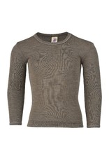 Engel Engel - onderhemd, ls, wol/zijde, walnoot (0-2j)