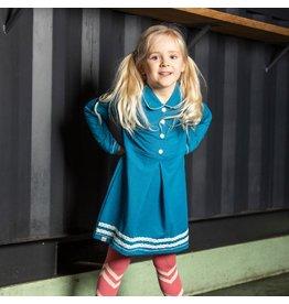 Alba of Denmark Mutti dress, blue sapphire (3-16j)