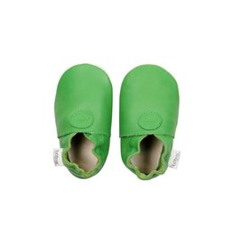 Bobux Soft sole, green, classic dot