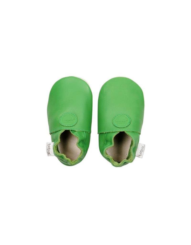 Bobux Bobux - soft sole, green, classic dot