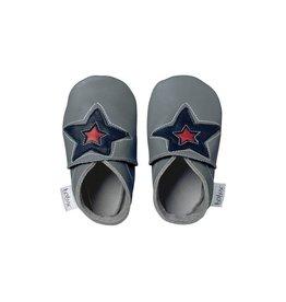 Bobux Soft sole, grey, astro star