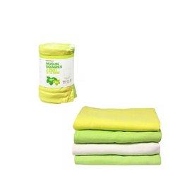 Imse Vimse Tetradoek, groen-geel-wit, 4 stuks