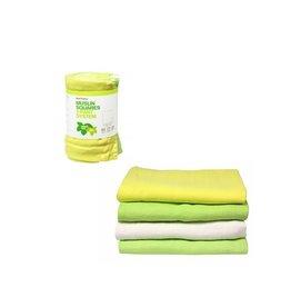 ImseVimse Tetradoek, groen-geel-wit, 4 stuks