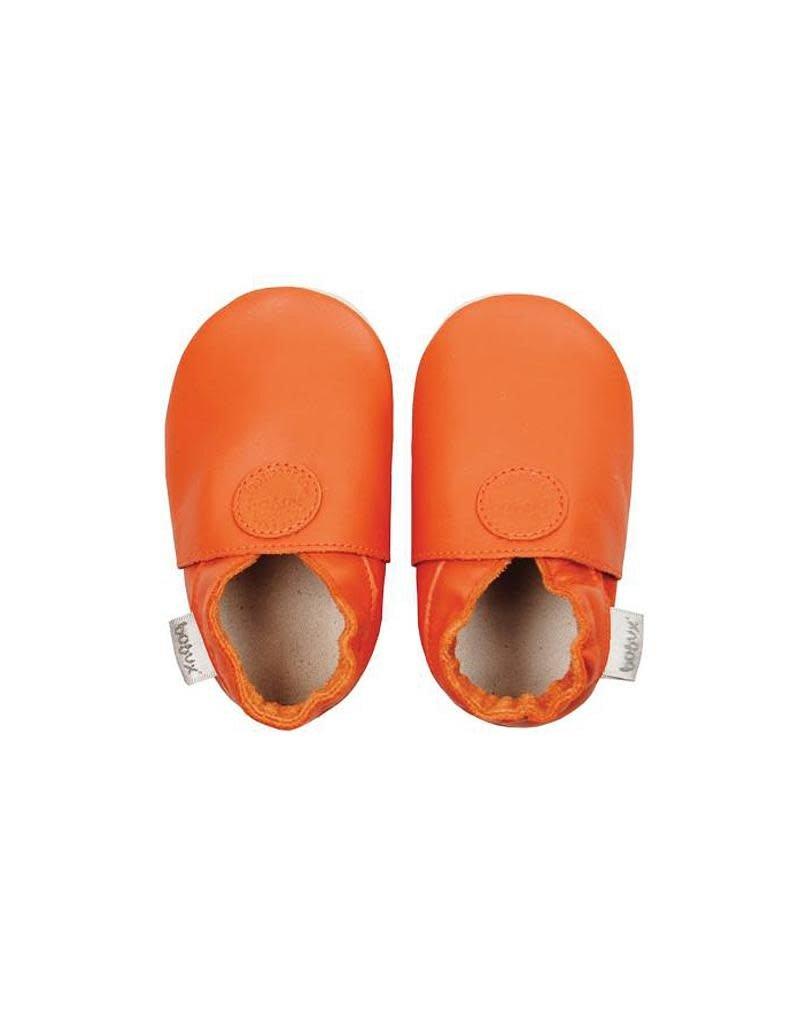 Bobux Bobux - soft sole, orange, classic dots