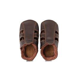 Bobux Soft sole sandaal, chocolat