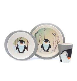 Yuunaa Kinderservies, pinguin