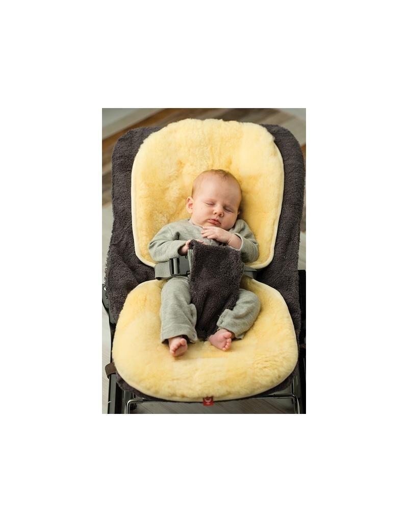 Kaiser Kaiser - schapenvel voor in buggy of autostoel, medisch geel, 80x35cm