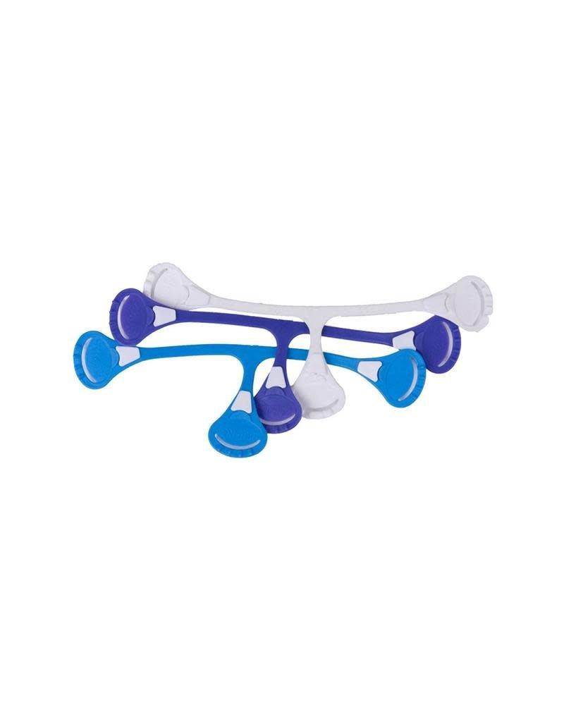 Popolini Popolini - snappi, set van 3, blauw-paars-wit