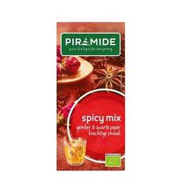 Piramide Spicy mix, gember en zwarte peper