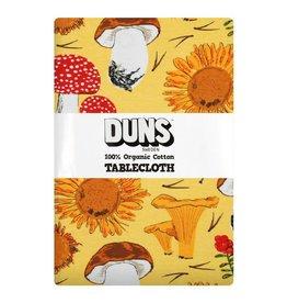 DUNS Sweden Tafellaken, Sunflowers and Mushrooms Sunshine Yellow