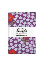 DUNS Sweden Duns Sweden - Tablecloth 220x140cm, Flower Amethyst