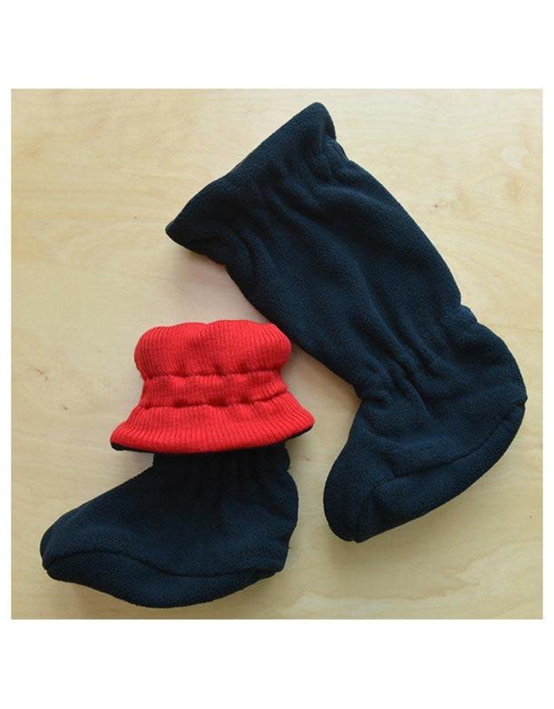 ManyMonths ManyMonths - adjustable winterbooties, poppy red (0-2j)