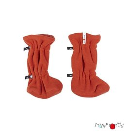 ManyMonths Adjustable winterbooties, rooibos red (0-2j)