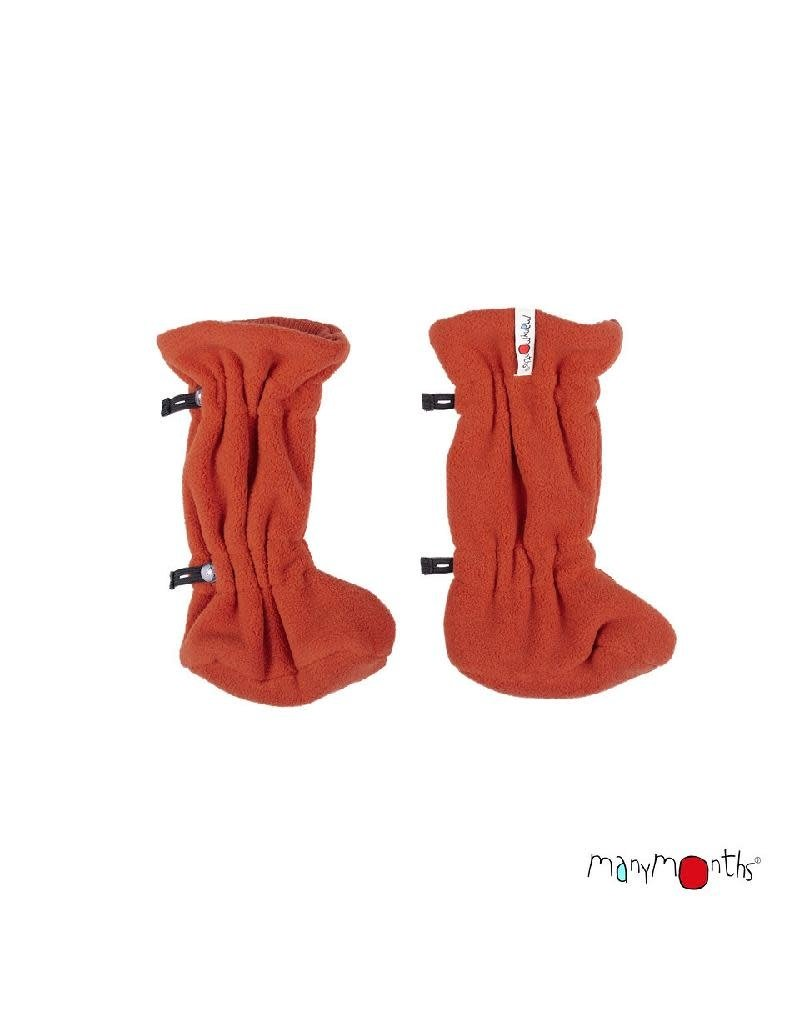 ManyMonths ManyMonths - adjustable winterbooties, rooibos red (0-2j)