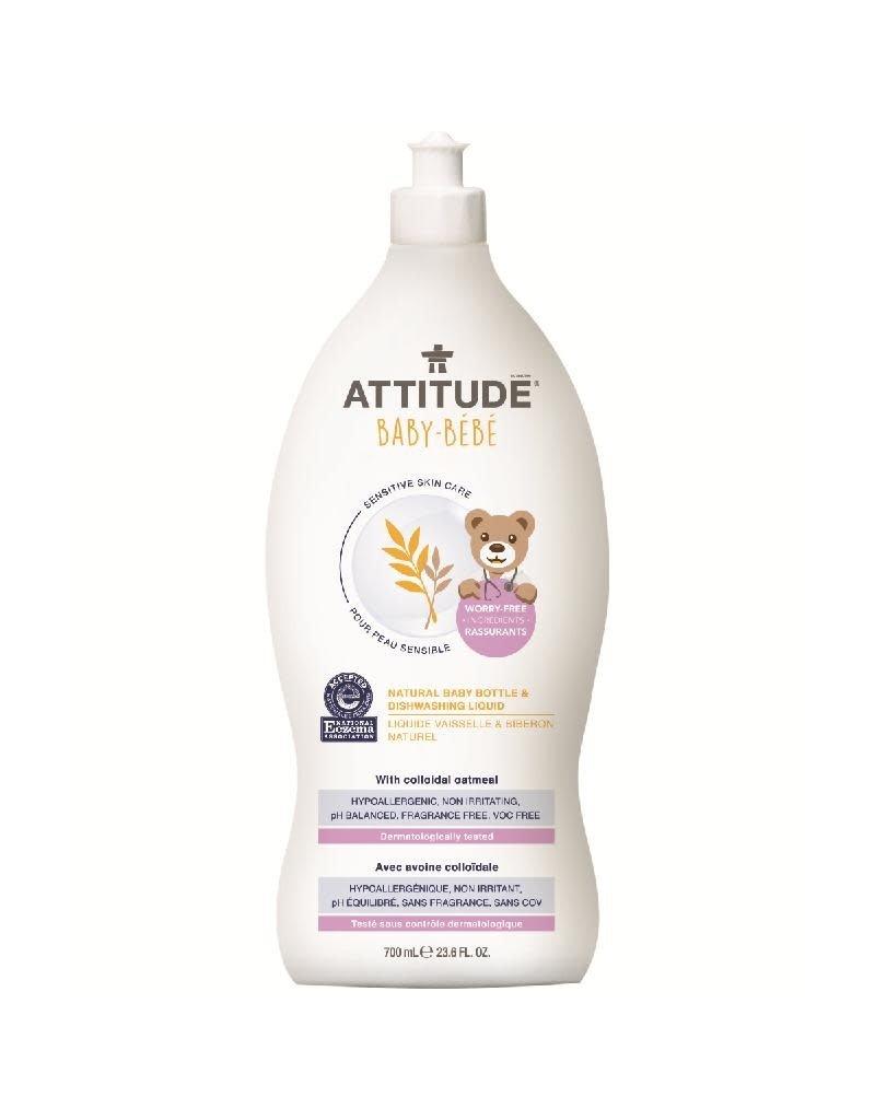 Attitude Attitude - Sensitive Skin Natural Baby Bottle & Dishwashing liquid