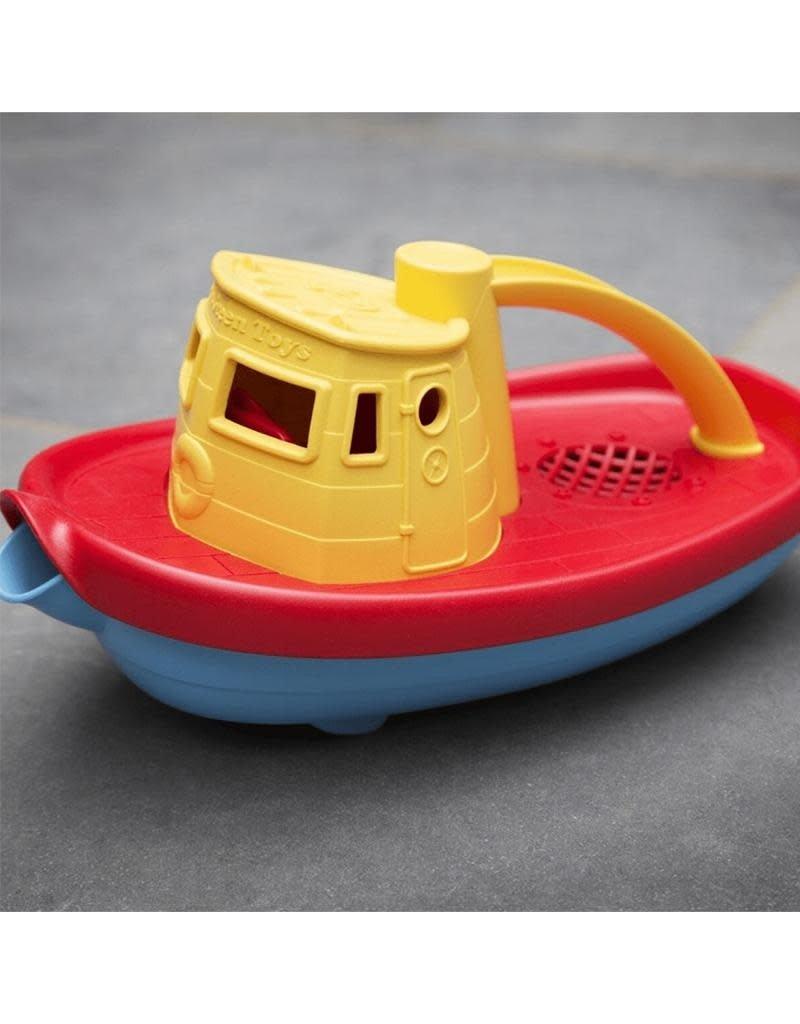 Green Toys Green Toys - sleepboot, geel