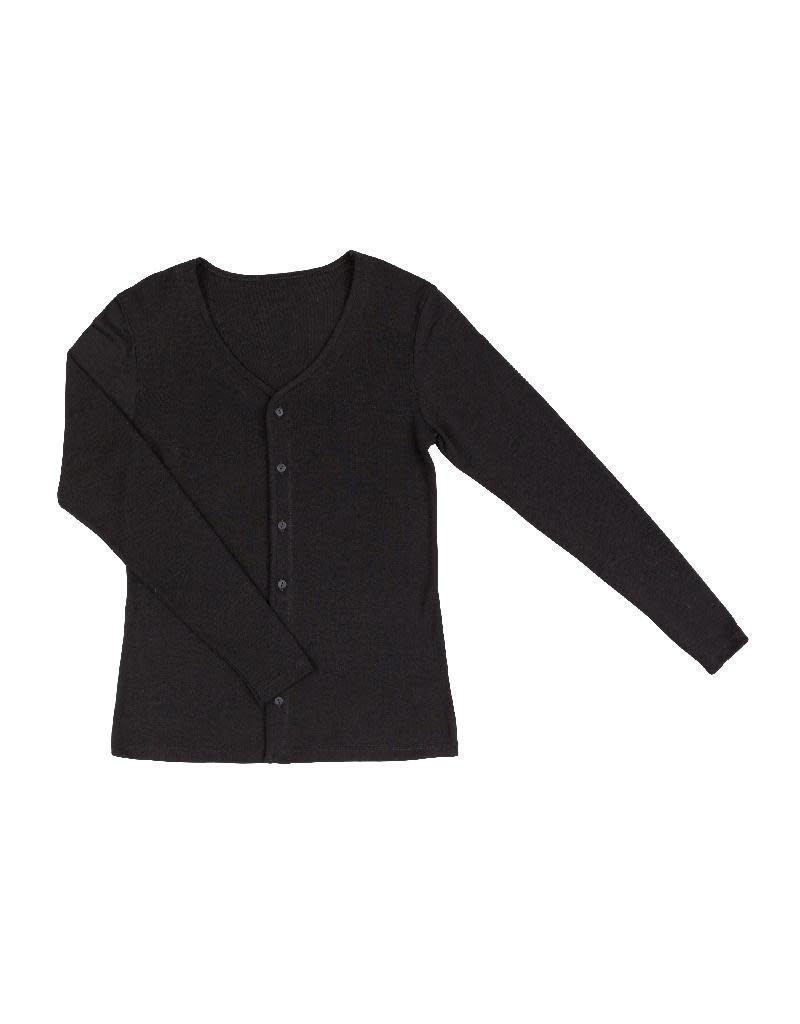 Joha Joha Woman - Cardigan, wol/zijde, zwart