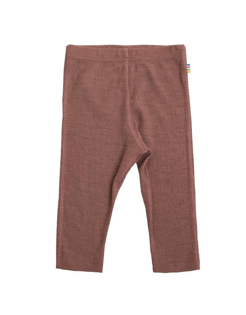 Joha Joha - legging, wol/zijde, old pink (3-16j)