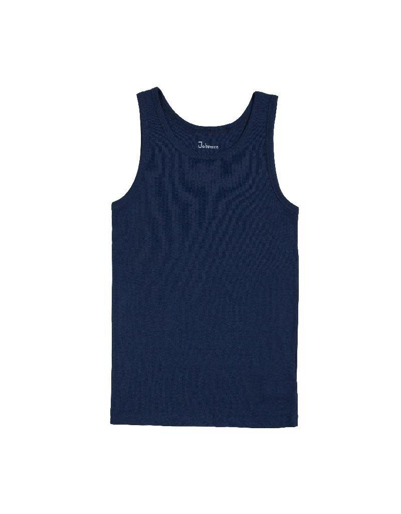 Joha Joha Man - onderhemd, wol, blue
