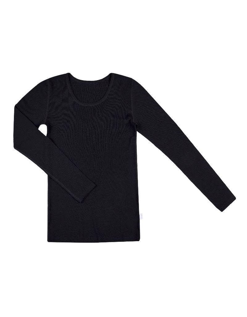 Joha Joha Woman - shirt, wol, zwart