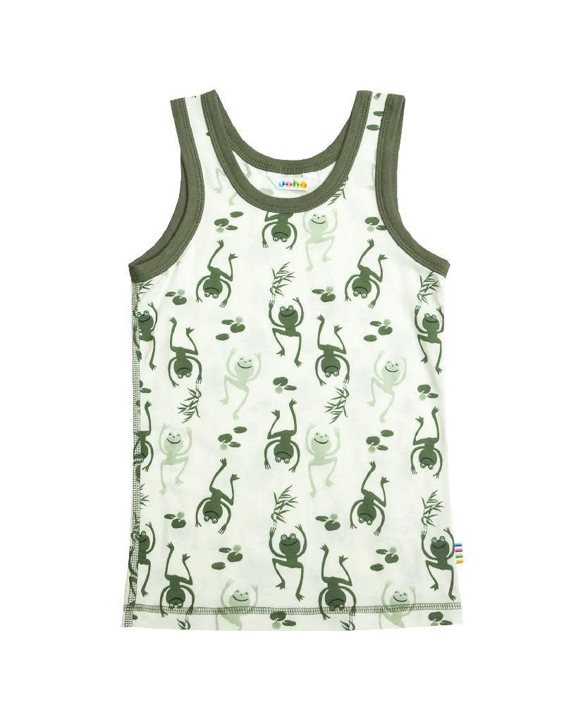 Joha Joha - onderhemdje, bamboe, green (3-16j)