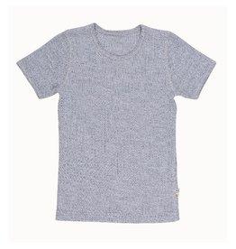 Joha T-shirt, lichtgrijs mélange (3-16j)