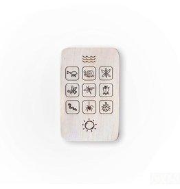 Pinch Toys Houten telefoon, fauna