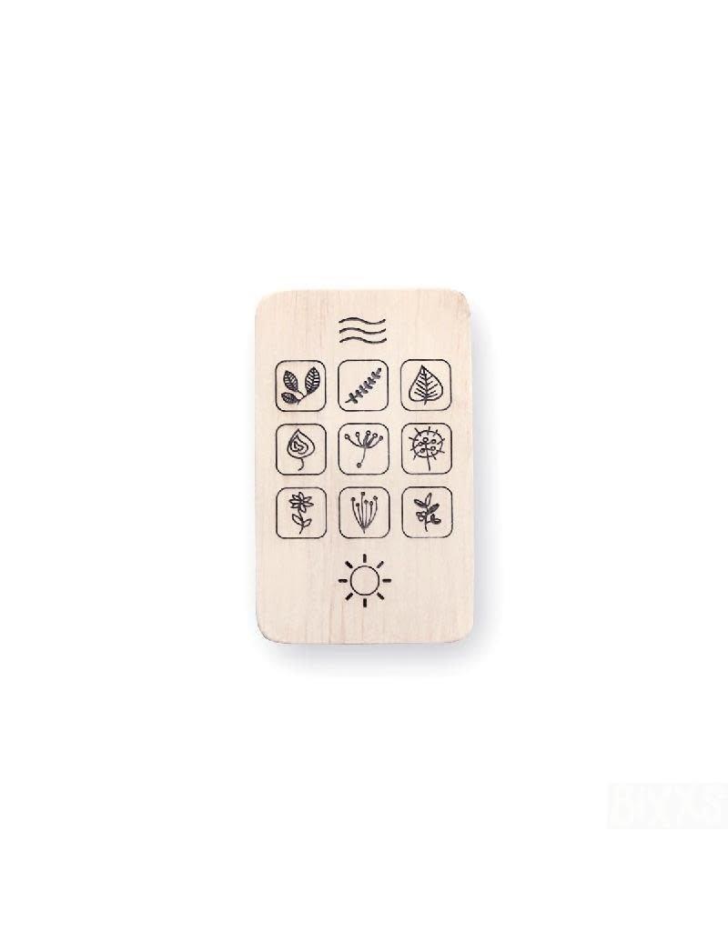Pinch Toys Pinch Toys - houten telefoon, flora