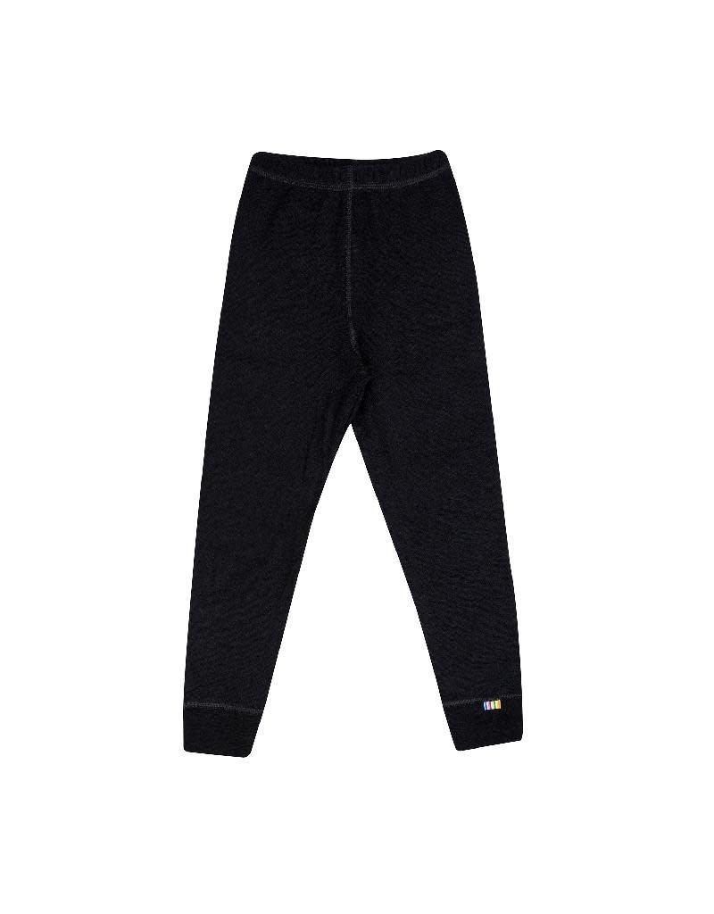 Joha Joha - legging, wol/katoen, zwart (3-16j)