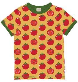 Maxomorra T-shirt, tomato (0-2j)