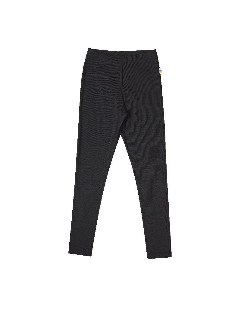 Joha Joha - Legging, wol/zijde, zwart (3-16j)