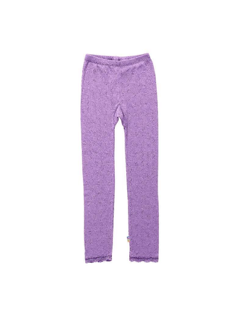 Joha Joha - Leggings, wol/zijde, purple (3-16j)