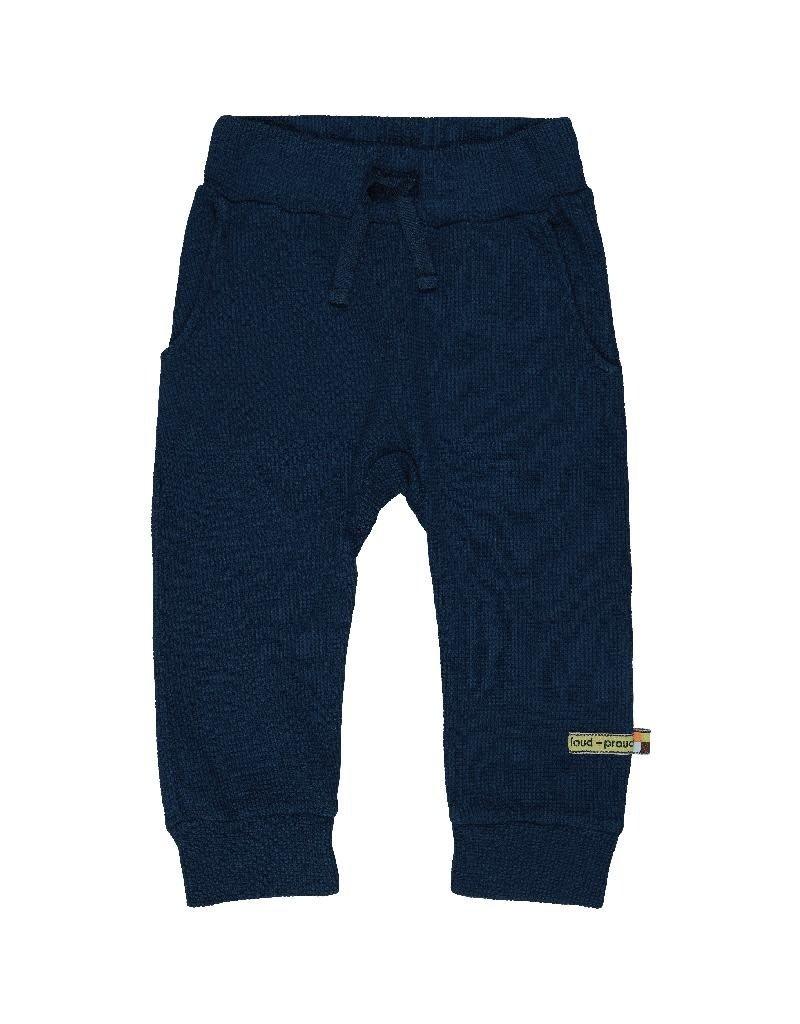 Loud+Proud Loud+Proud - pants waffle small, ultramarin (3-16j)