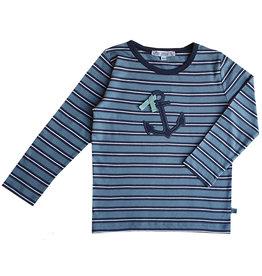 Enfant Terrible Shirt, Streifen und Anker (3-16j)