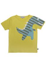 Enfant Terrible Enfant Terrible - Shirt mit Dino, limone (3-16j)